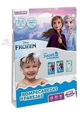 Fournier Shuffle Aqua Frozen Casse-tête et jeu d'association 130012514