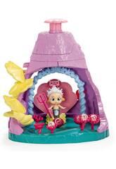 Bloopies Shellies Playset Volcán de la Reina Carolia IMC Toys 93119