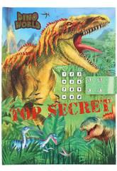Journal de Dino World avec le code secret Depesche 11569