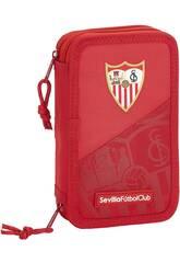 Plumier Doble Pequeño 28 Piezas Sevilla FC Safta 411956854
