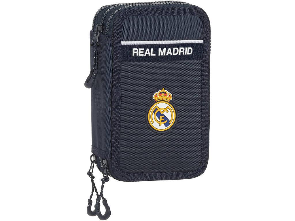 Plumier Triple 36 Piezas Real Madrid Safta 412034857