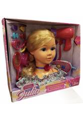 Coiffures et accessoires de Bust Fashion Doll Julia