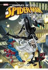 Spiderman Mala Suerte Marvel Action Panini