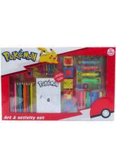 Pokémon Set De Actividades 67 Piezas CYP GS-67-PK