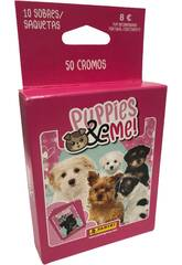 Puppies & Me! Ecoblister 10 Sobres Panini