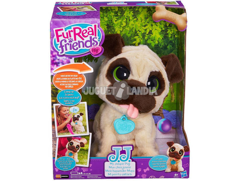 Fur Real Friends J.J. Tenero Carlino 24x19x14 cm HASBRO B0449