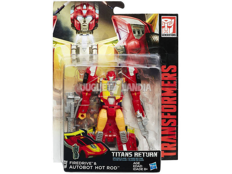 Figura Transformers Generations Deluxe Titan Hasbro B7762