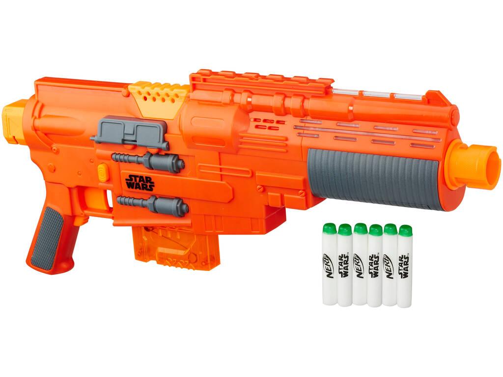 Star Wars Rogue One Seal Leader Green Blaster