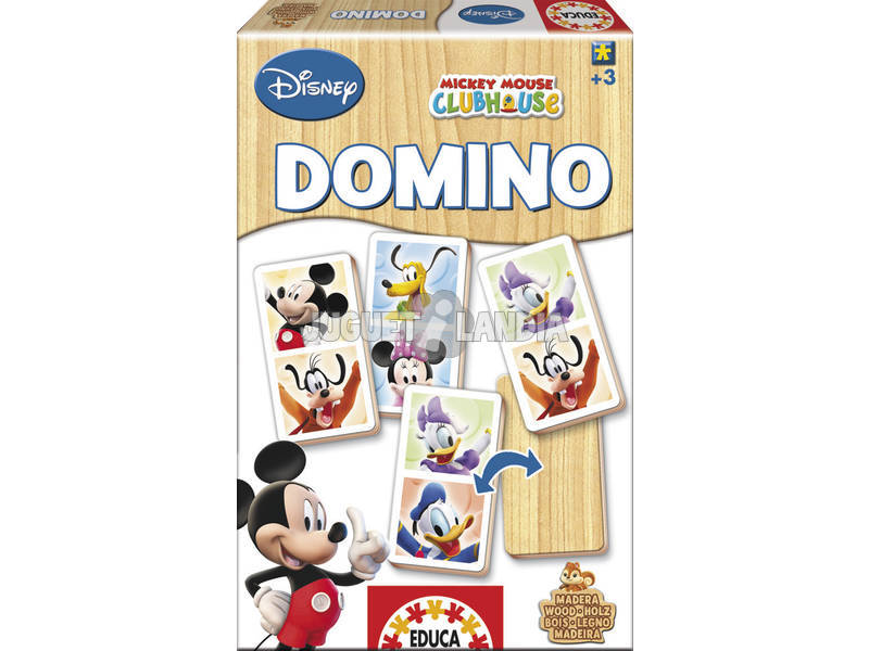 Domino Mickey Mouse Club House