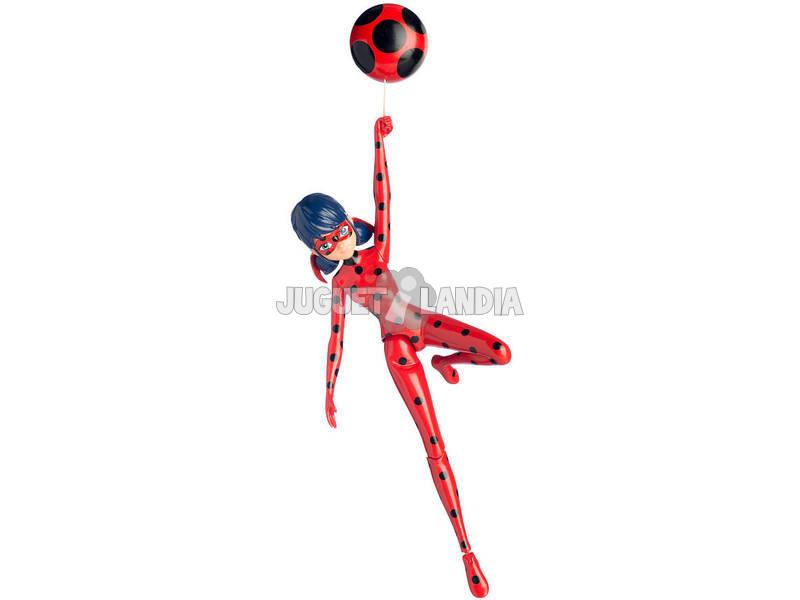 Figura con Acción Ladybug 19cm Bandai 39730