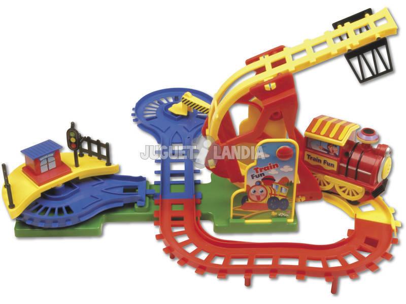 Un fou train avec piste
