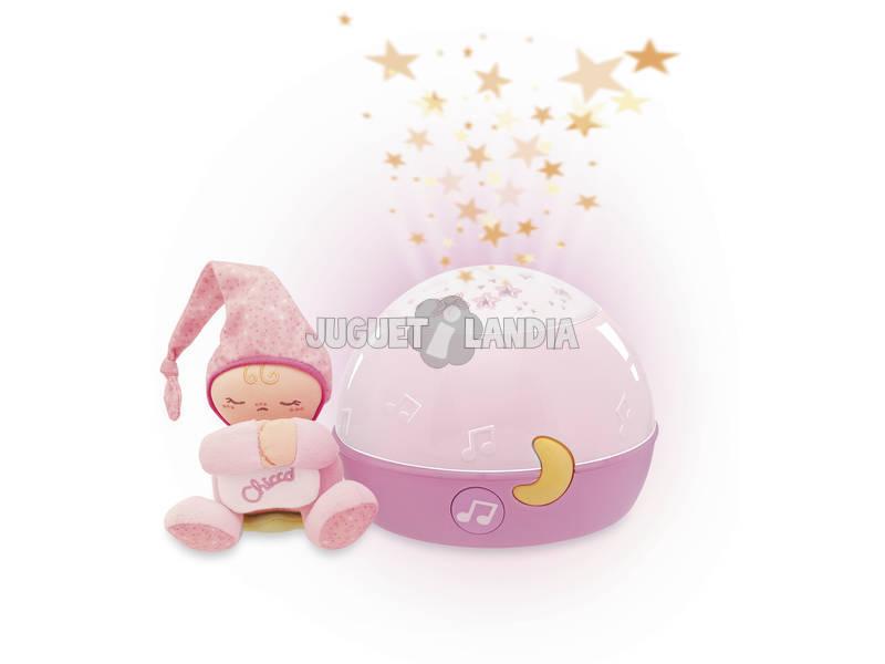 Buona notte stelline rosa