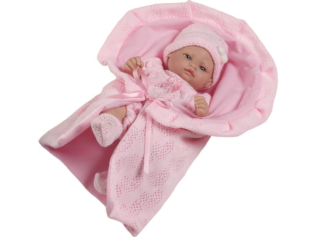 Boneca Mini Recém Nascida 25 Cm Berbesa