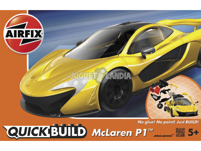 Quick Build Coche McLaren P1
