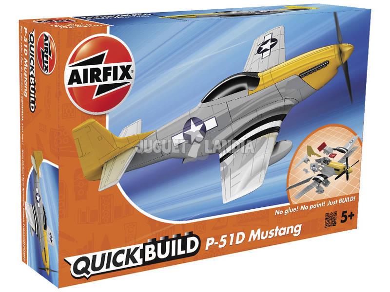 Quick Build Avión Mustang P-51