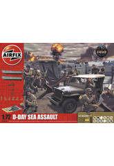 Diorama D-Day Sea Assault Gift Set