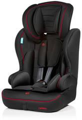 Silla Auto Travel Negra y Roja