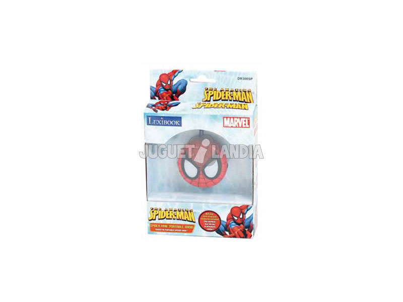 Radio Portatil de Spiderman Lexibook DR300SP