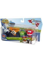 Superwings Transform-a-bots Pack 4