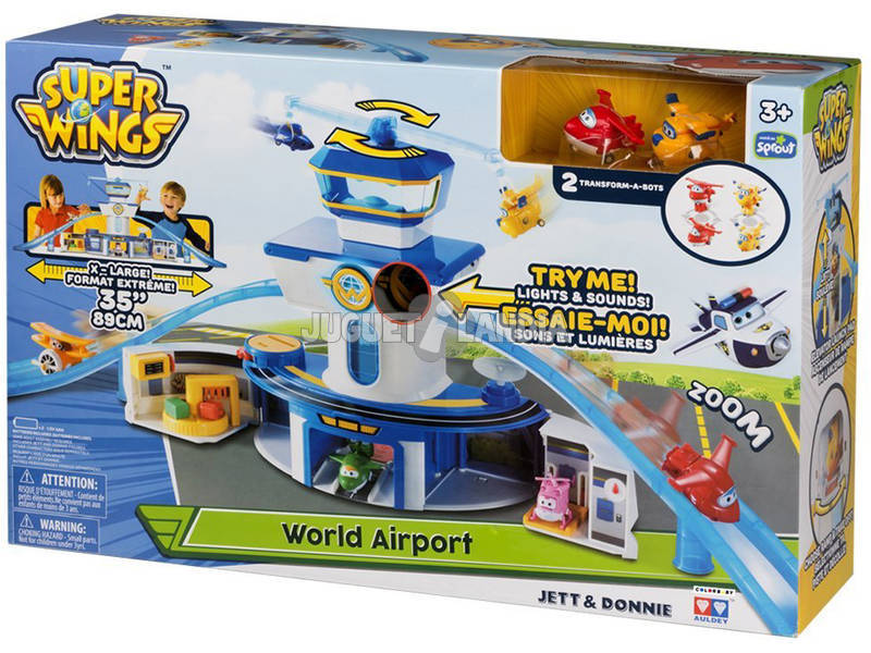 Superwings Transform-a-bots Aeropuerto