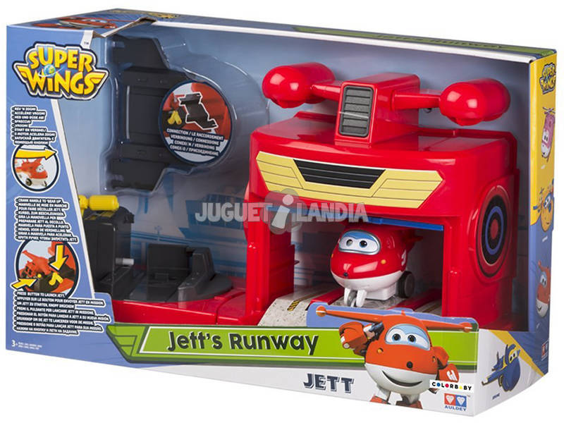 Superwings - Vroom N Zoom! Hangar Jett/Donnie