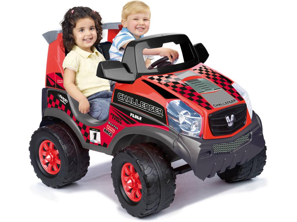 Vehículo Feber Todoterreno Challenger 2 plazas 12 V 51x65x108 cm Famosa 800008262