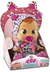 Puppen Lea Leopard Weinende Babys IMC TOYS 10574
