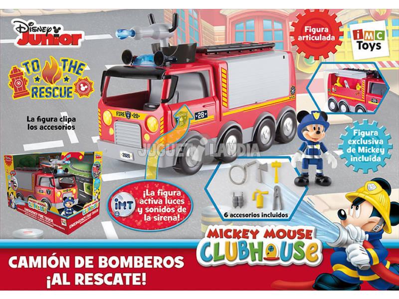 Mickey Mouse Camin De Bomberos Al Rescate  Juguetilandia