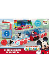 Tren radio control Mickey Mouse Club House