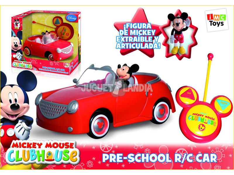 Coche radio control Mickey Mouse Preescolar Teledirigido