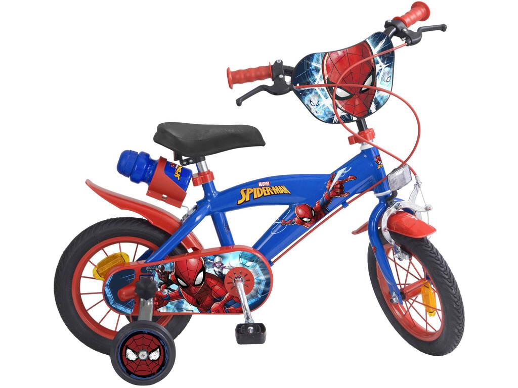 Bicicleta 12 Spiderman 2 Frenos Toimsa 872