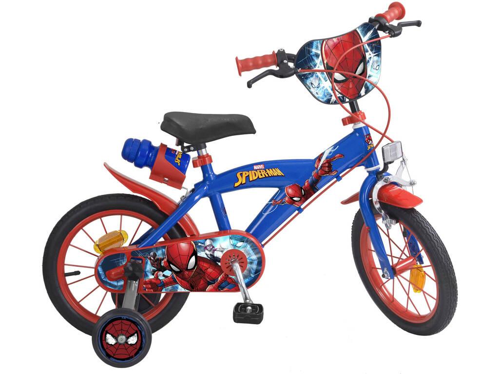 765d6ed20 Bicicleta 14 Spiderman 2 Freios Toimsa 874 - Juguetilandia