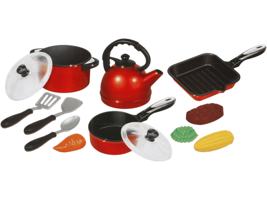 Set Cozinha 13 peças com Caçarola
