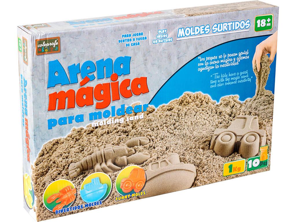 Sabbia Magica 1 Kgr. con Accessori 10 pezzi
