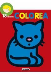 imagen Libro Colorea Por Edades Susaeta S6004