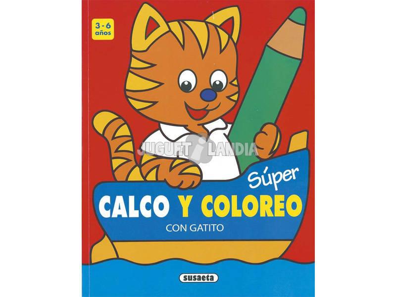Súper Calco y Coloreo Susaeta S6011