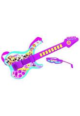 Guitarra Electronica Conexion MP3 Soy Luna