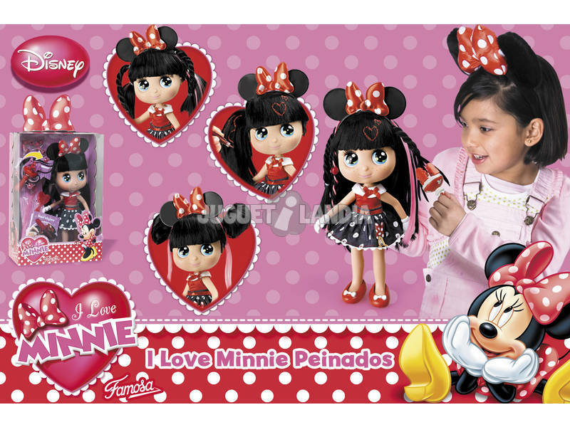 I love Minnie pettinature