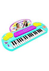 Clavier Avec Connexion et Sortie MP3 Soy Luna