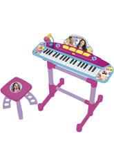 Organo con Pie y Banqueta Soy Luna