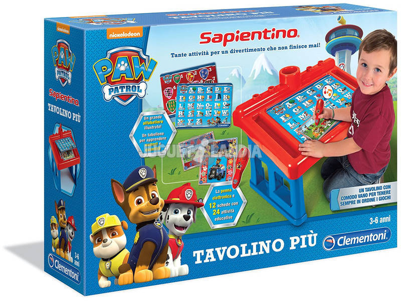 Pupitre Educativo Paw Patrol