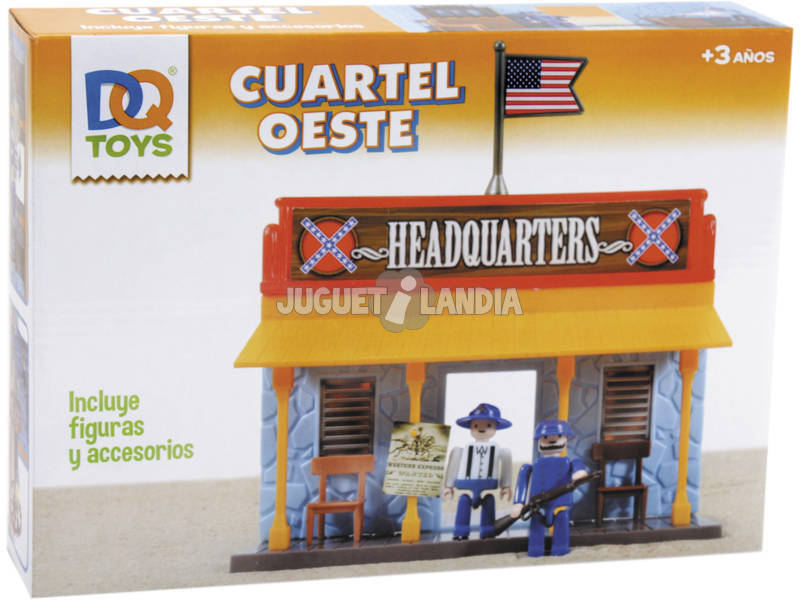 Playset Oeste Quartel Geral