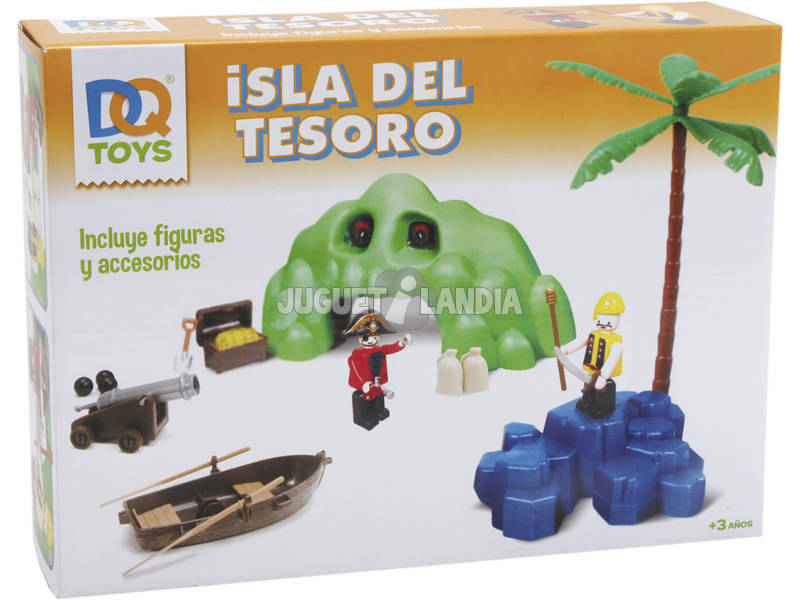 Playset Isla Pirata Con Cueva Del Tesoro