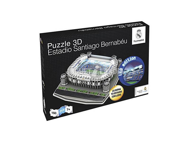 Puzzle 3d real madrid santiago bernabeu con led juguetilandia - La casa del puzzle madrid ...