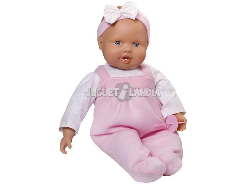 Bebé 45 cm Dentinhos Expulsa Chucha