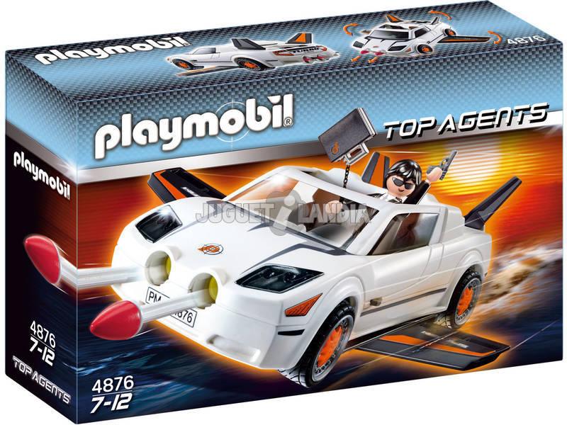 Playmobil véhicule agent secret