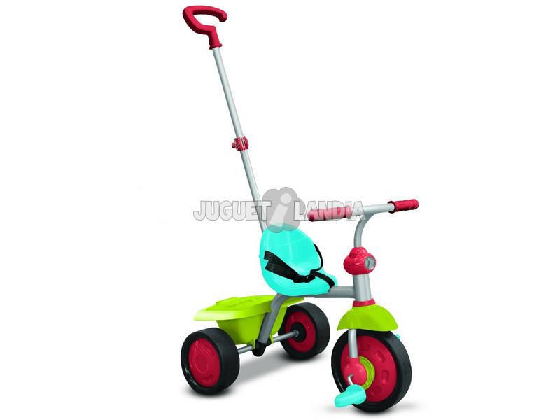 Triciclo Smart Trike Fun 2 en 1 Azul Verde