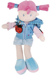 Muñeca de Trapo 35 cm. Capucha Mariquita