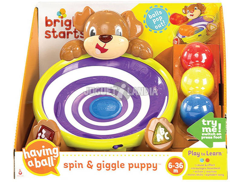 Perrito Puppy Spin and Giggle