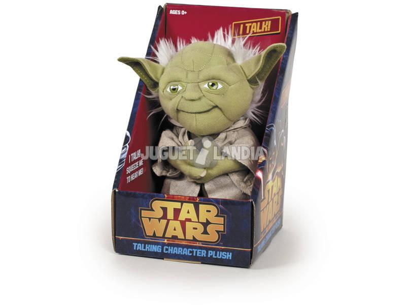 Brinquedo de pelúcia Star Wars 25 cm. Sons